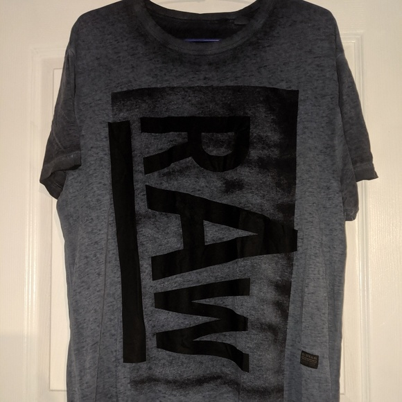 NWT G Star Raw Graphic 3 T Shirt Mens XL /& XXL  Color Green//Black